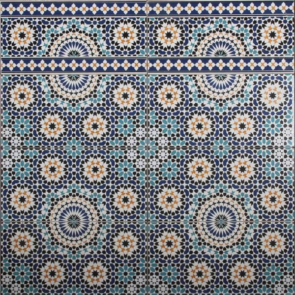 Wand-Fliesen aus Marokko Ifran