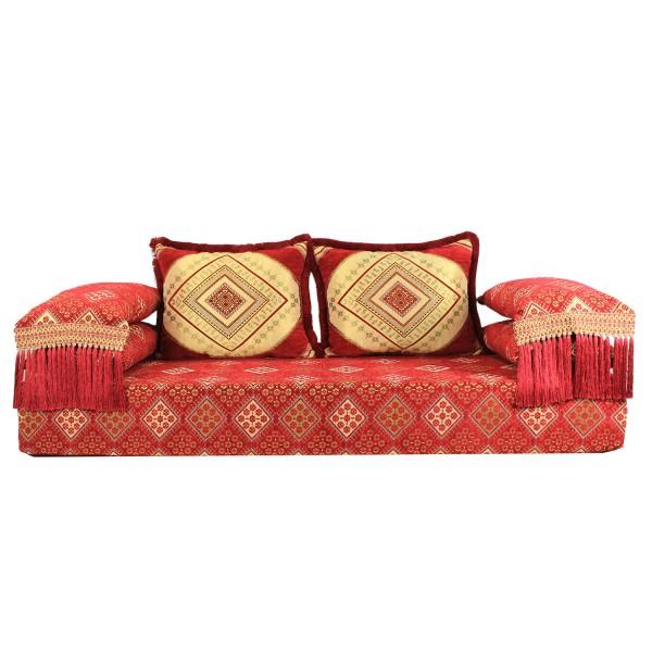 Orientalisches Sofa Oman Rot 25