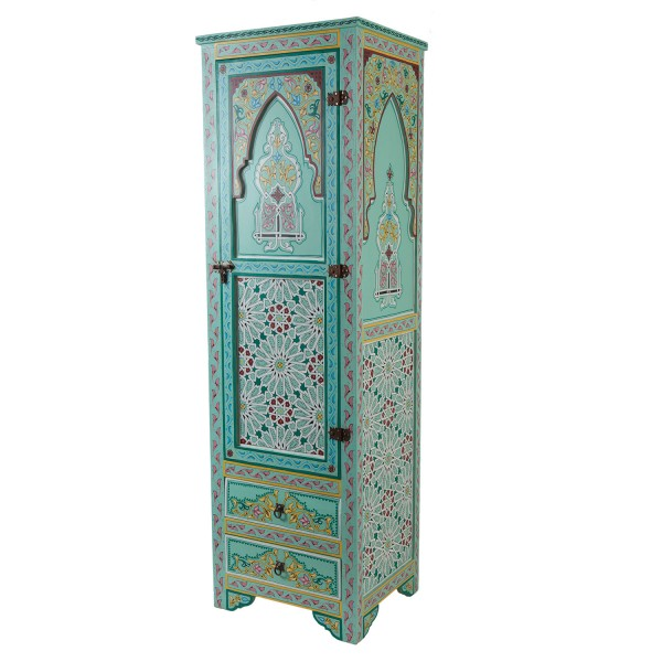 Marokkanischer Holz-Schrank Jamal