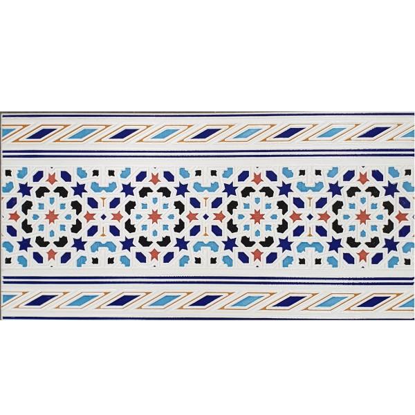 Marokkanische Fliesen-Bordüre Kebir