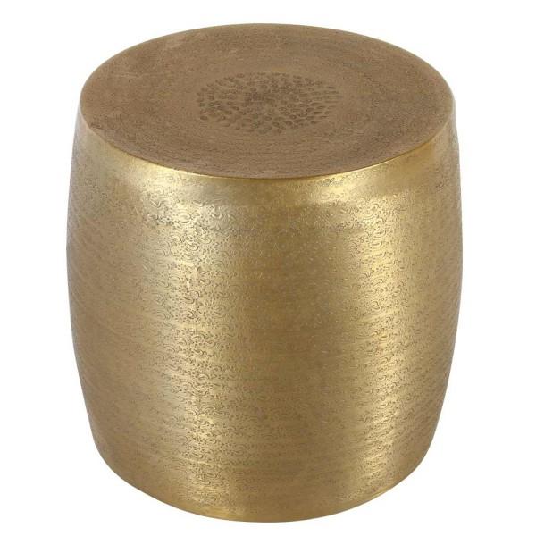 Orientalischer Beistelltisch Ayoub Gold