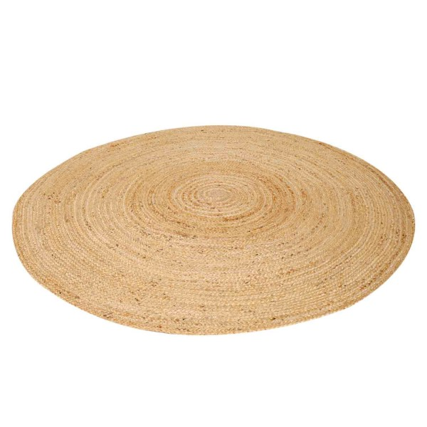 jute teppich tamani natur Ø 120cm rund