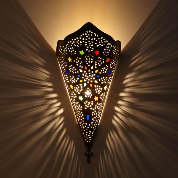 Messing-Wandlampe Rahma
