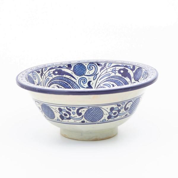 Orientalisches-Handbemaltes-Keramik-Waschbecken Fes72