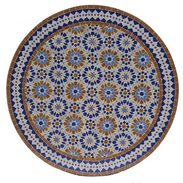 Mosaiktisch D100 Ankabut Braun
