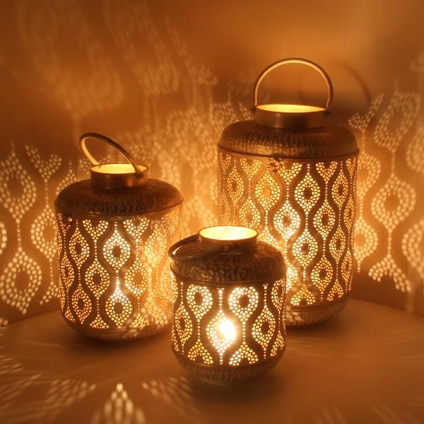 Orientalische Laternen Suraya 3er Set