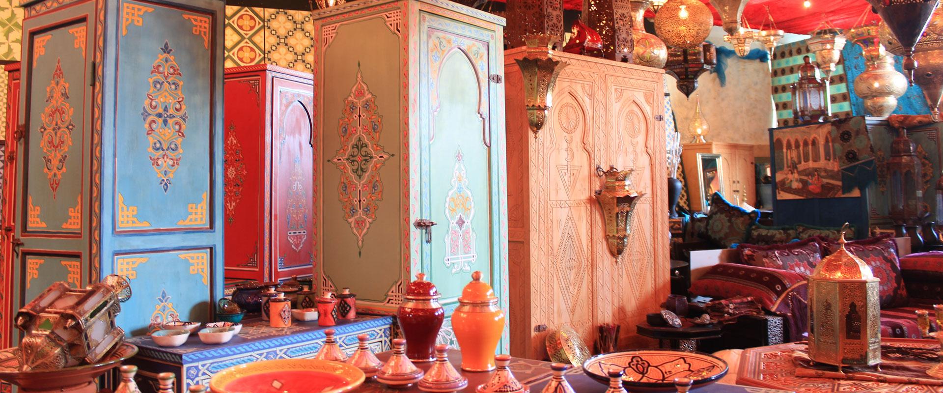Ihr Online Shop für Orientalische Möbel