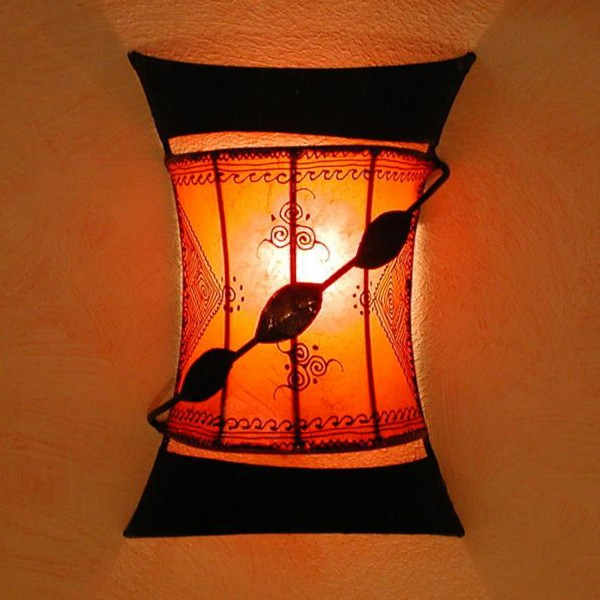 Wandlampe Touargiya Orange