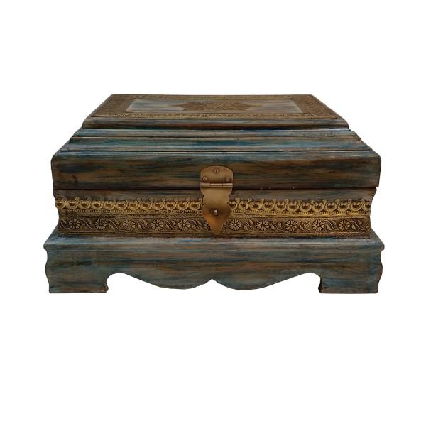 Orientalische Holztruhe Emira