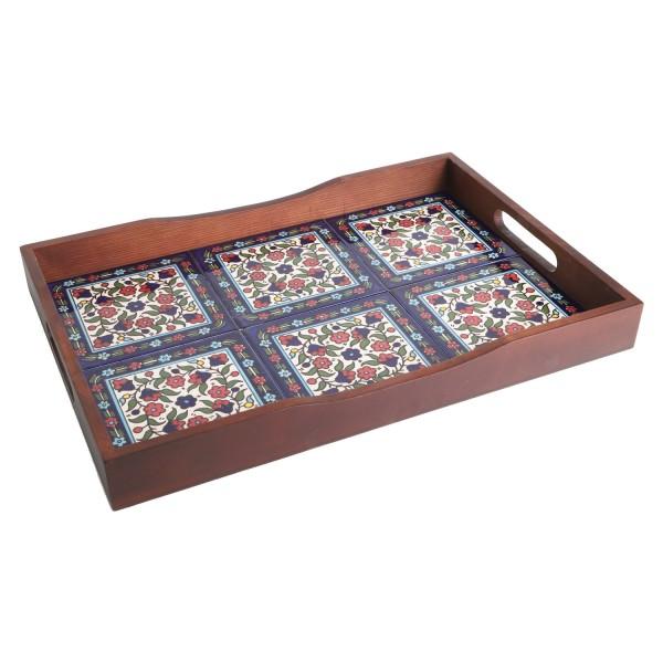 Orientalisches Serviertablett Karim XL12