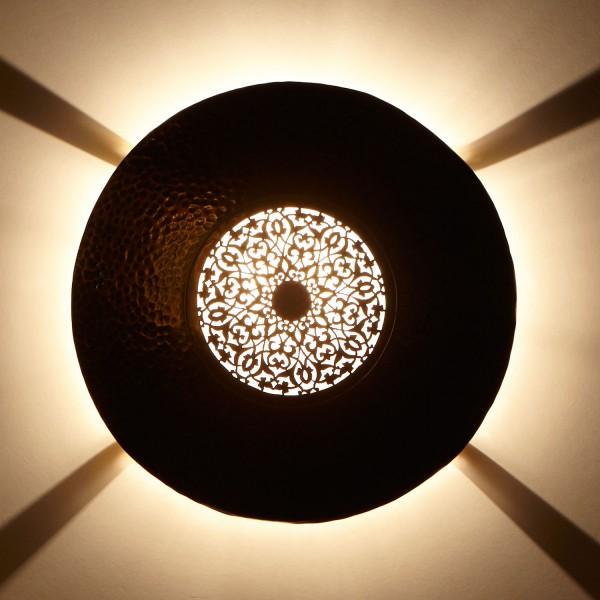 Messing-Wandlampe Mahassin