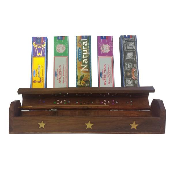 Räucherstäbchen Kiste im 6er Set