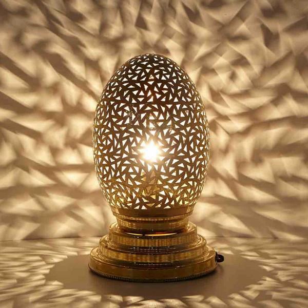 Orientalische Messinglampe Hadia