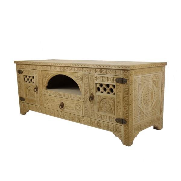 Marokkanische Fernsehkommode aus Holz Rakiya