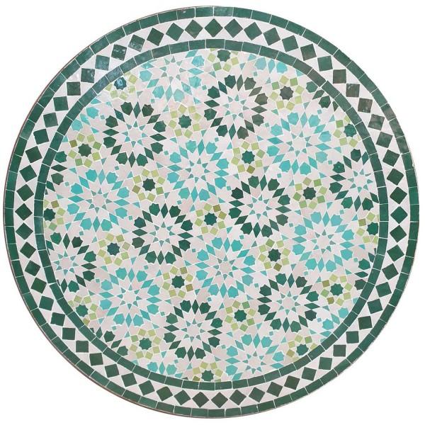 Mosaiktisch D80 Ankabut Türkis