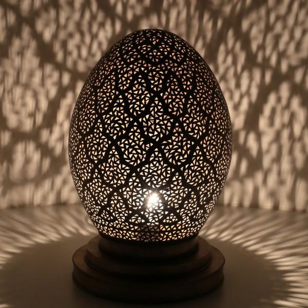 Messinglampe Amra