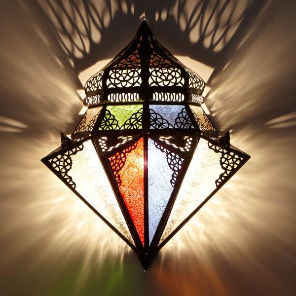 Orientalische Wandlampe Jawhar