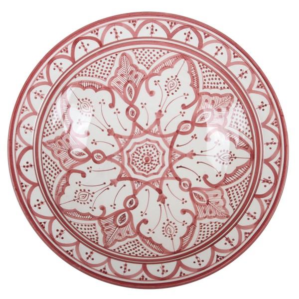 Handbemalte Keramikschale aus Marokko F033