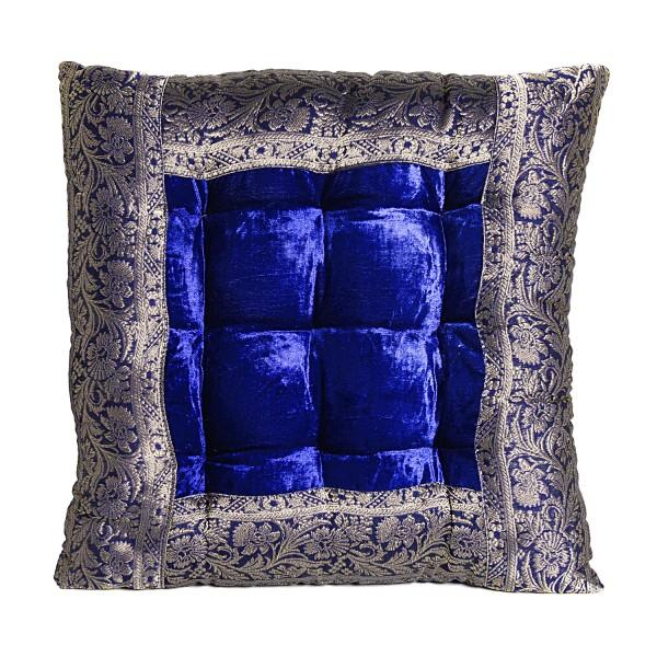 Orientalisches Sitzkissen Blau Mar55
