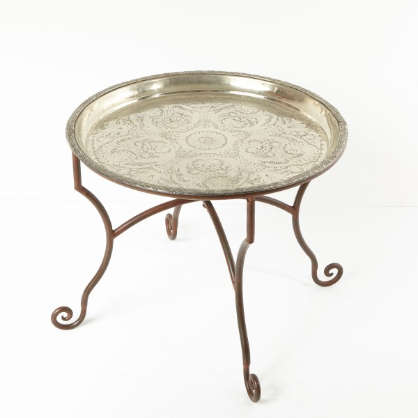 Teetisch Marrakesch mit Eisengestell