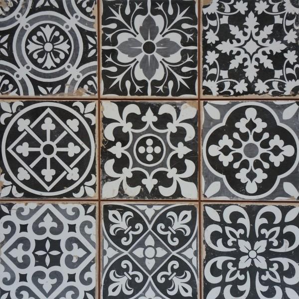 Marokkanische Fliesen Rahel Schwarz Patchwork