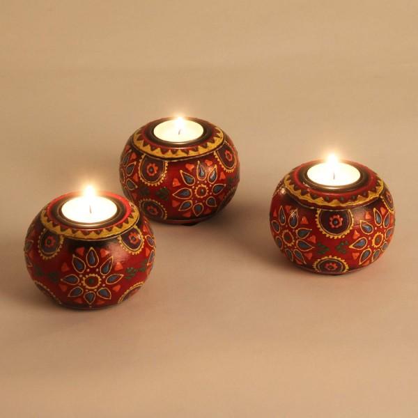 Teelichthalter Anandra im 3er Set