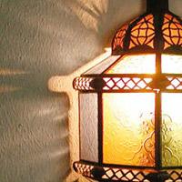 Glaswandlampen