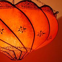 Lederdeckenlampen