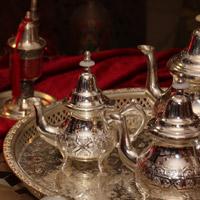 Marokkanische-Teekannen