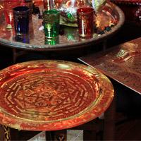 Marokkanische Teetabletts & Teetische