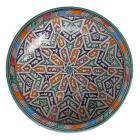 handbemalte Keramikschale aus Marokko F024