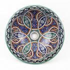 Orientalisches-Handbemaltes-Keramik-Waschbecken Fes57