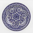 handbemalte Keramikschale aus Marokko F017
