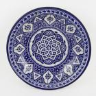 handbemalte Keramikschale aus Marokko F019