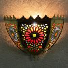 Messing-Wandlampe Gomra