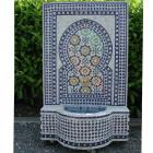 Mosaikbrunnen Ratila Blau