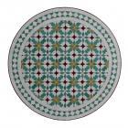 Mosaik-Tisch aus Marokko M60-41
