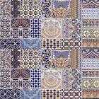 Marokkanische patchwork Fliesen Bunt