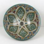 Orientalisches-Handbemaltes-Keramik-Waschbecken Fes60