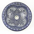 Orientalisches-Handbemaltes-Keramik-Waschbecken Fes46