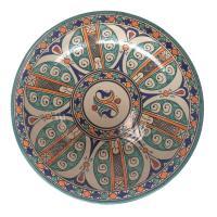 handbemalte Keramikschale aus Marokko F032