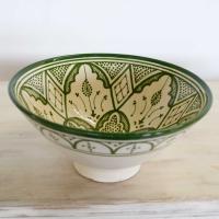 Handbemalte Keramikschüssel KS07