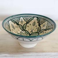 Handbemalte Keramikschüssel KS10