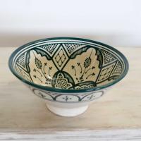 Handbemalte Keramikschüssel KS49