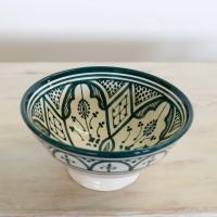 Handbemalte Keramikschüssel KS12