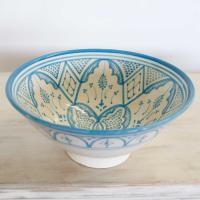 Handbemalte Keramikschüssel KS13