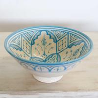Handbemalte Keramikschüssel KS14