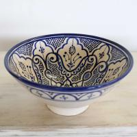 Handbemalte Keramikschüssel KS20