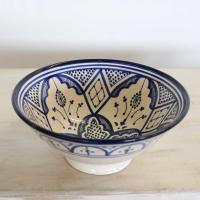 Handbemalte Keramikschüssel KS21