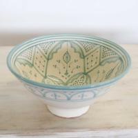 Handbemalte Keramikschüssel KS24
